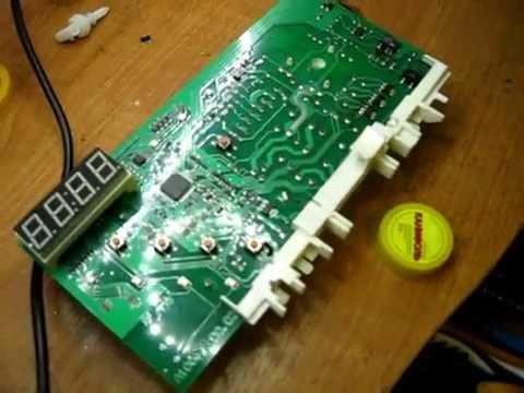 Ремонт электронного модуля стиральной машины Hansa, Ханса
