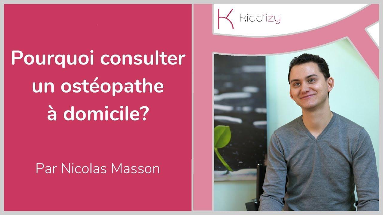Ostéopathe à domicile en Île-de-France  Urgence et soins à domicile