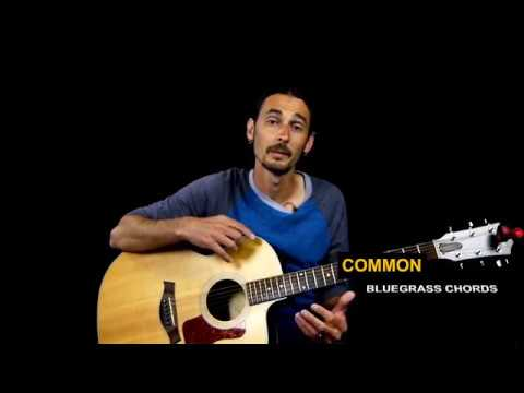 common bluegrass chords bluegrass guitar lesson youtube. Black Bedroom Furniture Sets. Home Design Ideas