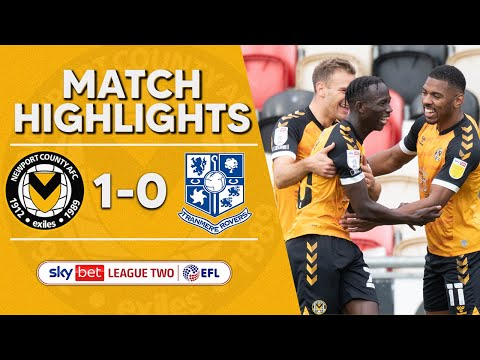 Newport Tranmere Goals And Highlights