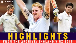 Stokes Hits Fastest 100 at Lord's in Incredible Comeback Win | England v NZ 2015 | Lord's