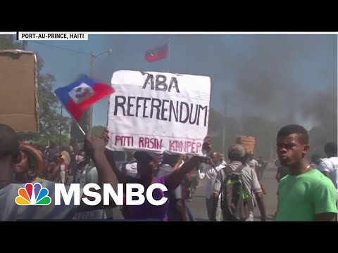 Haitians Seeking Refuge Are Deported Back To Civil Unrest | MSNBC