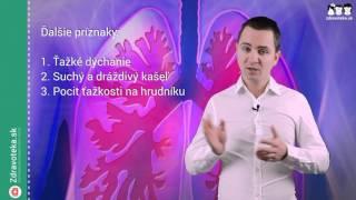 Astma bronchiale, priedušková astma