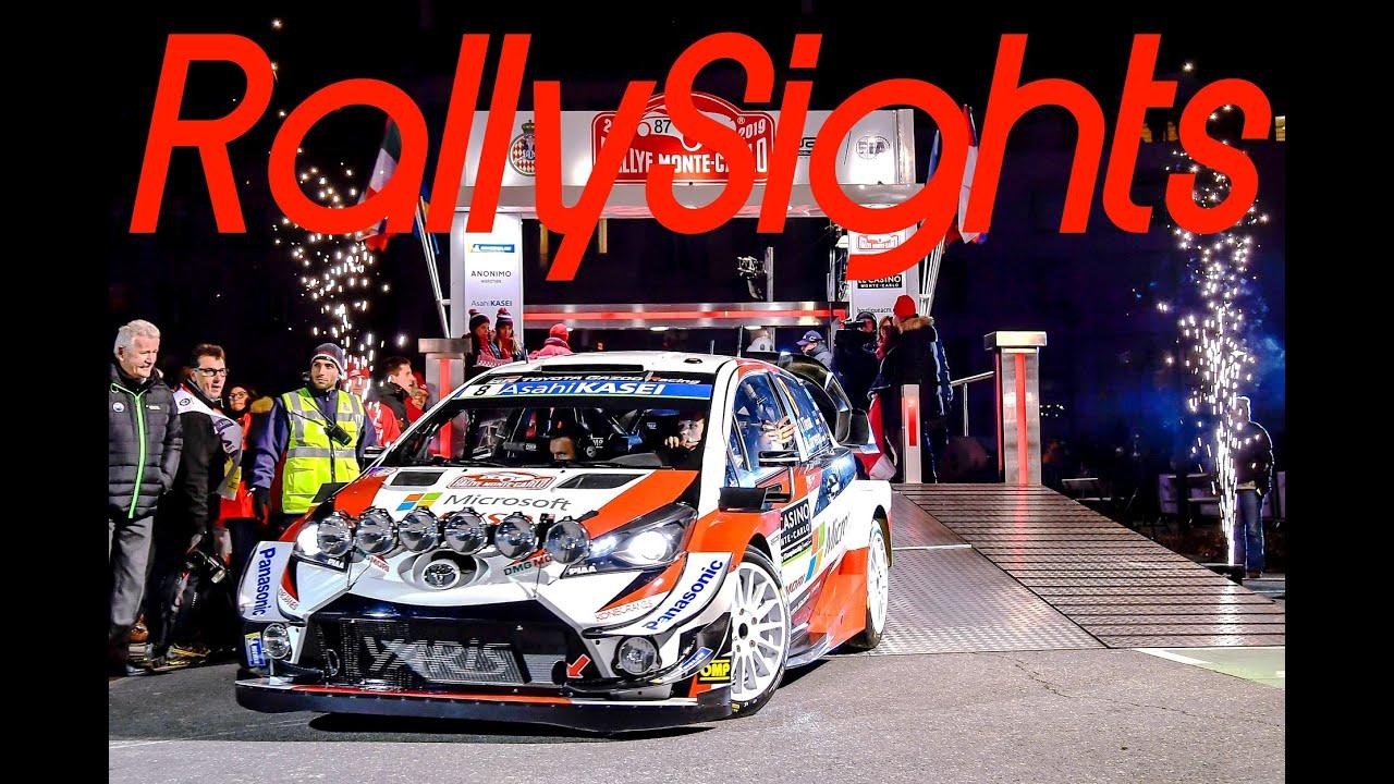 WRC Rallye Monte Carlo 2019 Service Park Gap Toyota Yaris Tänak Latvala Meeke TOYOTA GAZOO Racing