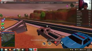playing famouse game jailbreak roblox