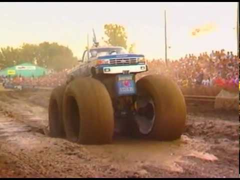 Mud Run Bigfoot 1 5 Various Mud Runs From The 80s Bigfoot 4x4 Inc Youtube