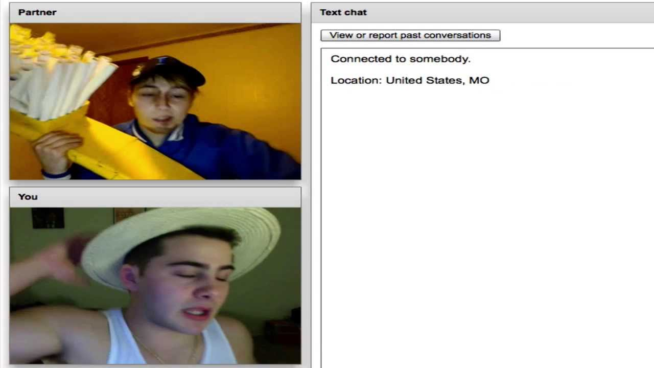 Scarface Turns Gay 4 Chatroulette Experience