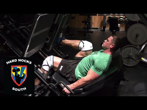 John Cena never stops: Work capacity legs training - Hard Nocks South Life
