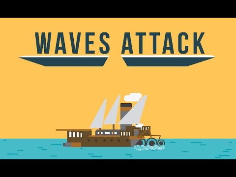 Waves attack - Cinematic - Global Game Jam