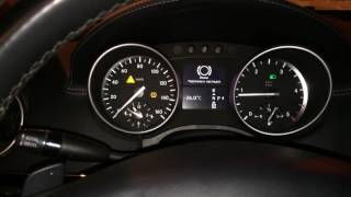 Тест драйв после чип тюнинга  Mercedes Benz GL 350 Bluetec 2011  отключили EGR, AdBlue и сажевый.