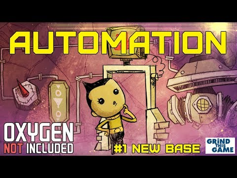 NEW AUTOMATION BASE #1 - Oxygen Not Included Automation Upgrade