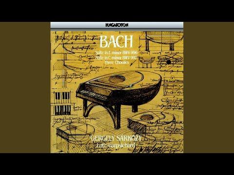 Gergely Sárközy - III. Suite in C minor BWV 997: 1. Prelude csengőhang letöltés