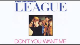 The Human League - Dont you want me - Instrumental