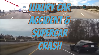Luxury car accident & supercar crash compilation