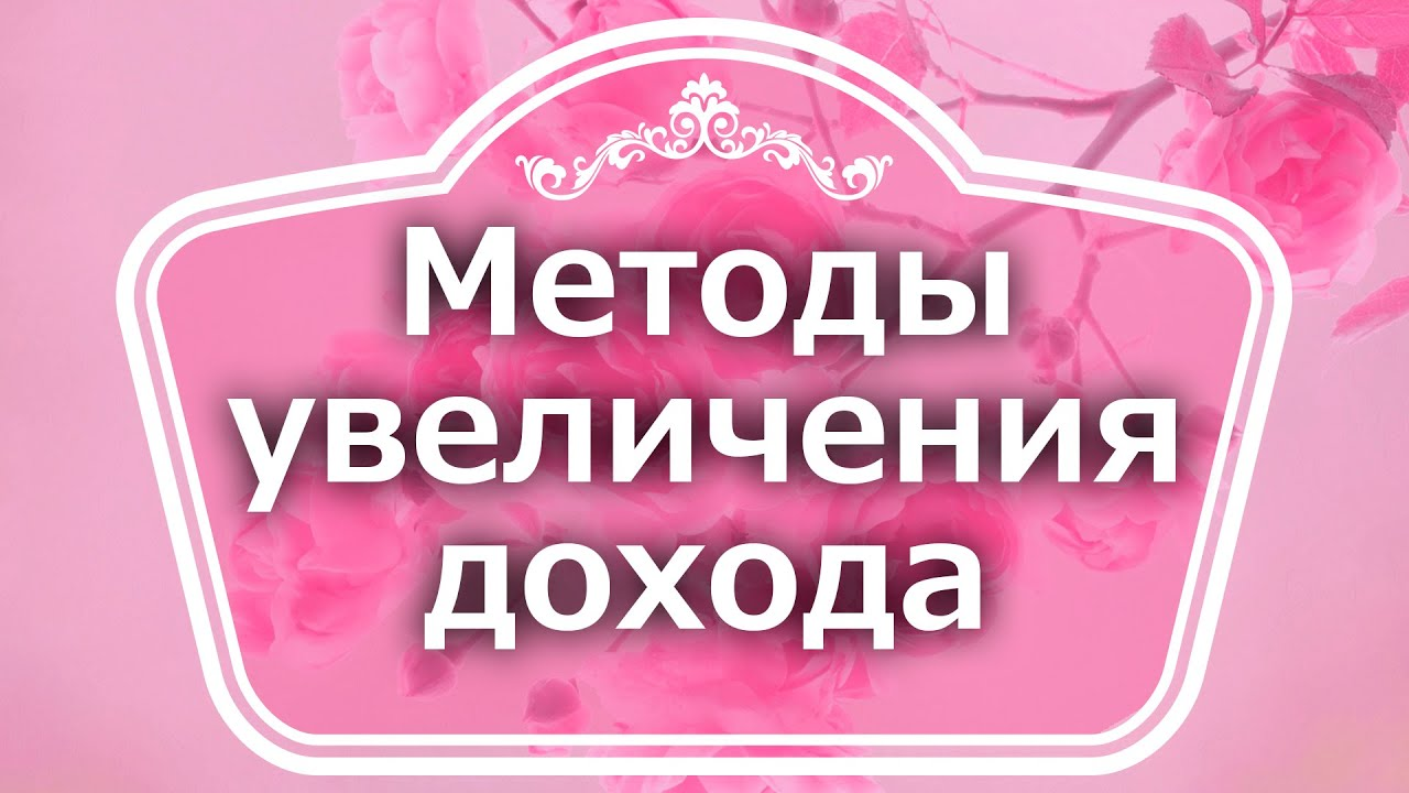 Екатерина Андреева - Методы увеличения дохода.