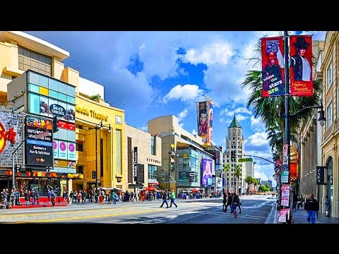 A Walk Down Hollywood Boulevard