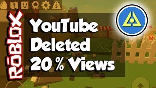 Roblox and Politics - YouTube Stole 20 Per Cent of My Channel Views