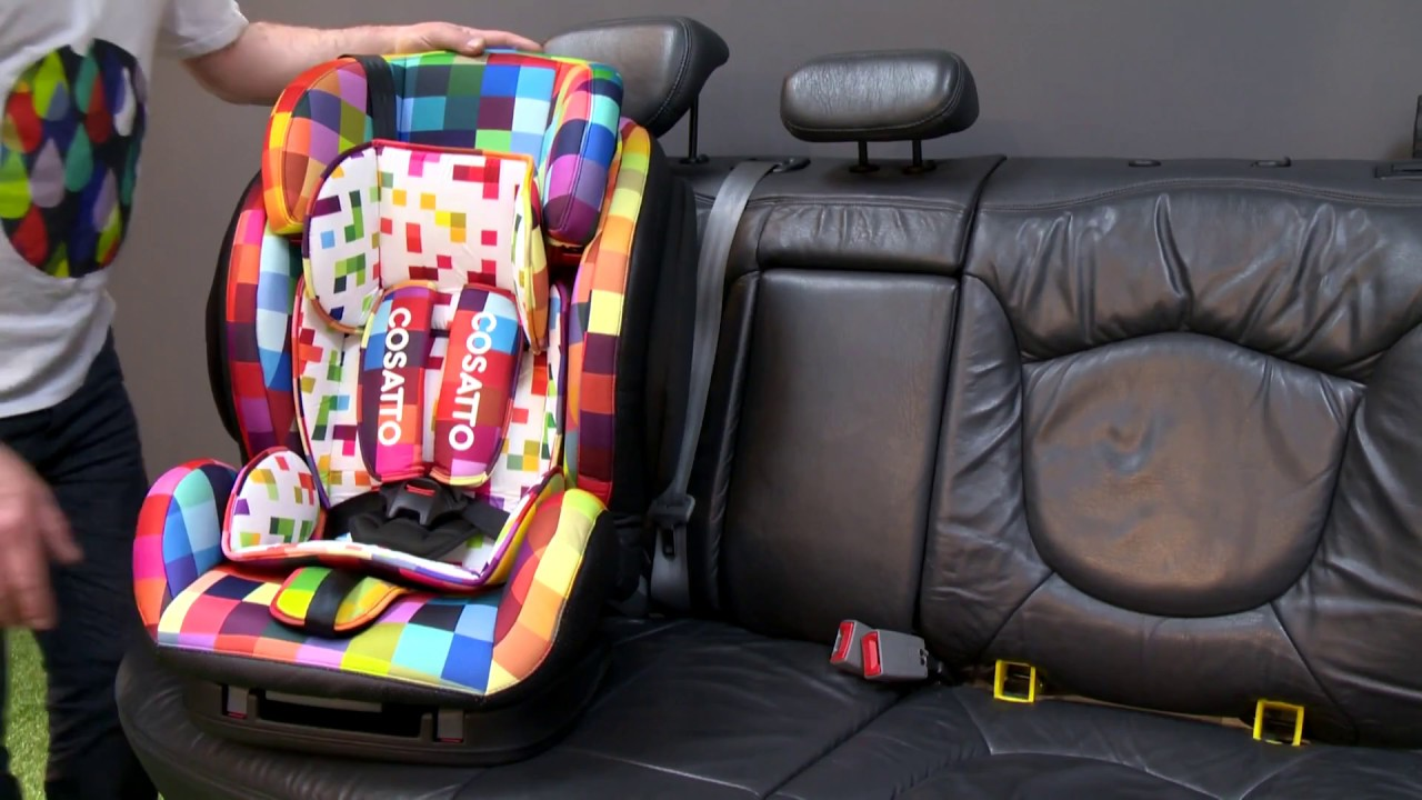 Cosatto Hug Group 123 Car Seat - YouTube