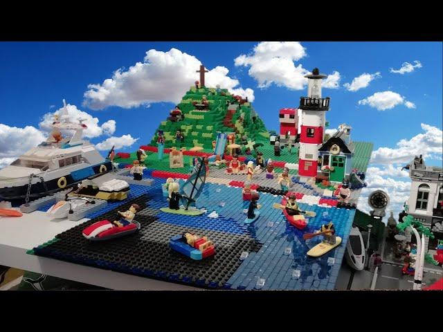 Bau einer Legostadt (Teil 19) Der Umbau des Parkes