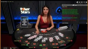Nette Damen beim Blackjack im Live Online Casino in Riga Latvia (Lettland)