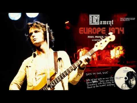 Клип King Crimson - Lament