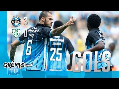 [GOLS] Grêmio 3x0 América-MG (Campeonato Brasileiro 2016) l GrêmioTV