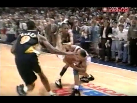 NBA 1994 Playoffs- Indiana vs New York- second half Game 7