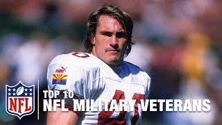 Top 10 Veterans in NFL History: Roger Staubach, Chuck Bednarik, Pat Tillman & More!