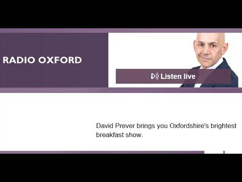 BBC Radio Oxford interviews Ed Gairdner 12th January 2018