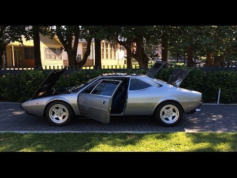 ferrari 308 gt4 dino gt4 1977 walk around and on road driving youtube. Black Bedroom Furniture Sets. Home Design Ideas