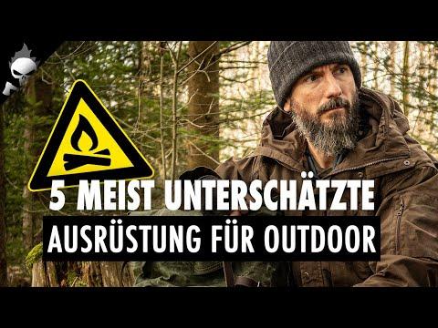 Die 5 MEIST UNTERSCHÄTZTE AUSRÜSTUNG für Outdoor und Bushcraft