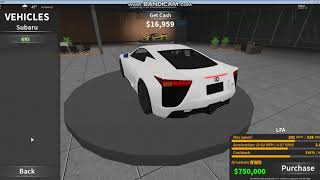 Roblox || Ultimate Driving (Gameplay) Chevrolet Camaro SS Drive in Westover
