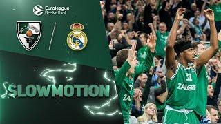 #SlowMotion: Zalgiris beats Real Madrid in style