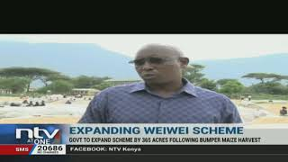 Govt begins expansion of Weiwei irrigation scheme