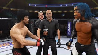 Bruce Lee vs. Bloodthirsty (EA Sports UFC 2)
