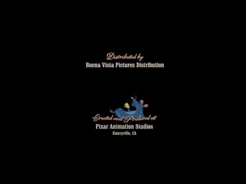 Ratatouille post credit animation