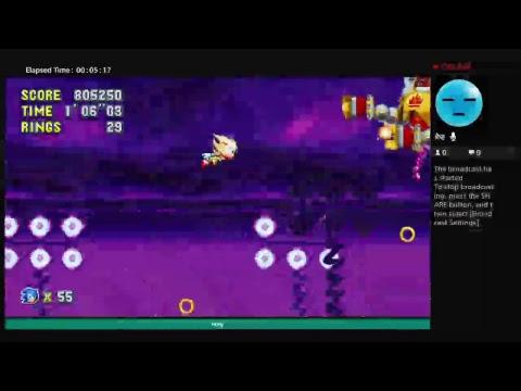 Super Sonic vs Final boss |