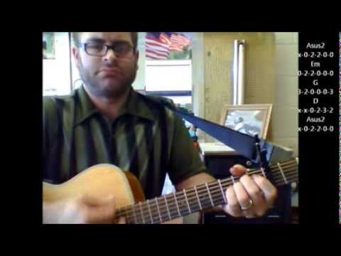 How to play The Wreck of the Edmund Fitzgerald by Gordon Lightfoot on acoustic guitar (Made Easy)