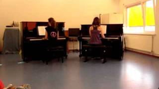 celeste and tessa on piano 1