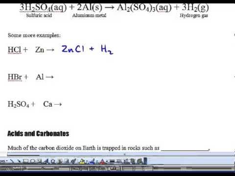Science 10 - 5.2 - 2 - Metal & Non-metal Oxides