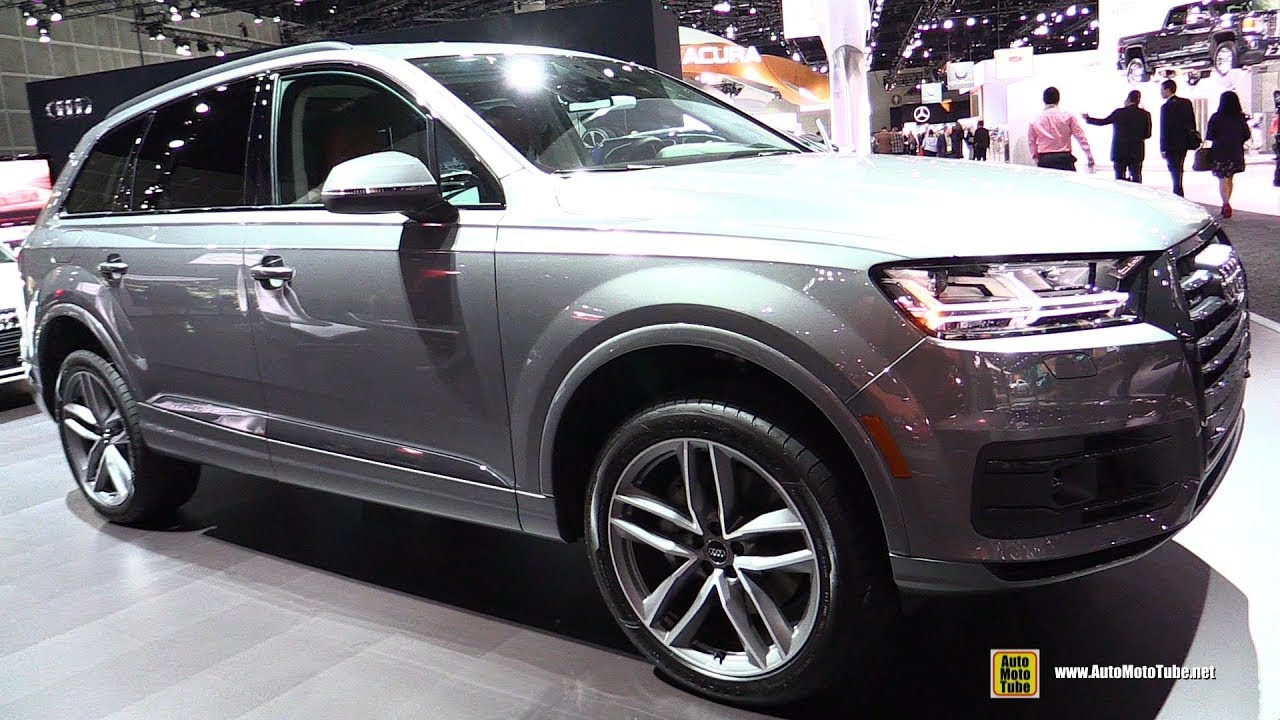 2018 audi q7 exterior and interior walkaround 2017 la auto show youtube. Black Bedroom Furniture Sets. Home Design Ideas