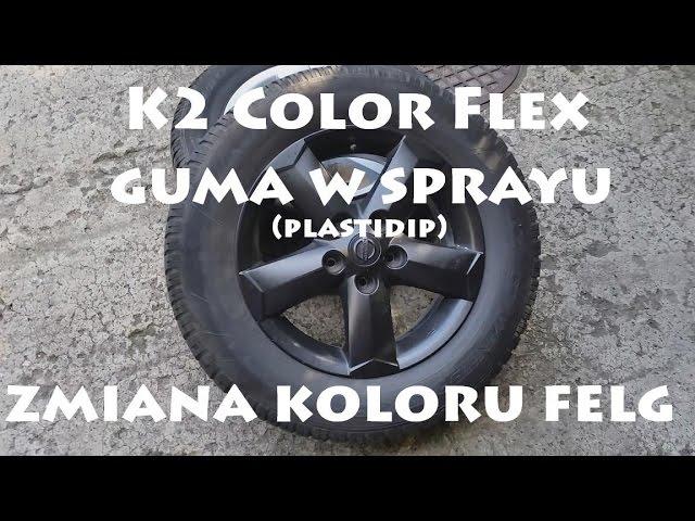 Plastidip K2 Guma W Sprayu Zmiana Koloru Felg Diy Youtube