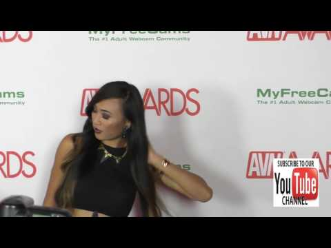 Venus Lux at the 2017 AVN Awards Nomination Party at Avalon Nightclub in Hollywood