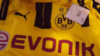 gogoalshop.com-2016-17 Borussia Dortmund Home Jersey Review