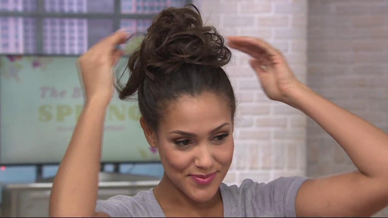 Toni Brattin Twist Classic Duo Hairpiece On Qvc Youtube