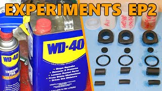 WD-40 Long-Term Exposure Testing on Rubber Parts (Experiments Ep.2)