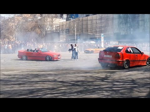 BMW E36 COUPE /DRIFT SHOW/Erevan,Armenia