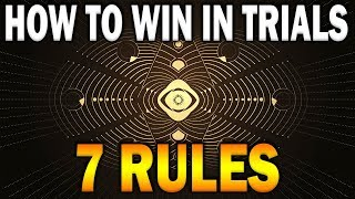 7 RULES to WIN in Trials & Go Flawless (Destiny 2 Season of the Worthy Guide) screenshot 2