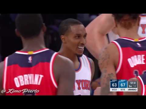 Brandon Jennings fouls a fringe NBA player, draws a double tech, gets hyped, and then gets his name chanted from Knicks fans at MSG all during a preseason game.
