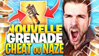 NOUVELLE GRENADE POISON ! Cheat Ou Naze? On Test ! Fortnite Battle Royale